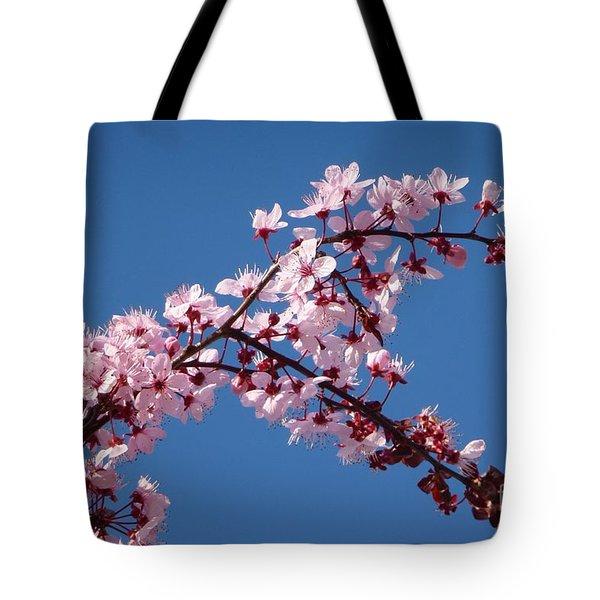 Flowering Of The Plum Tree 4 Tote Bag