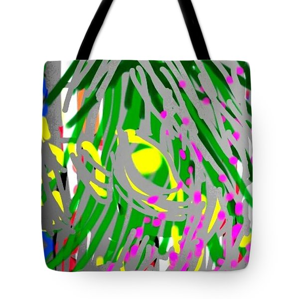 Flowering Orchids Tote Bag