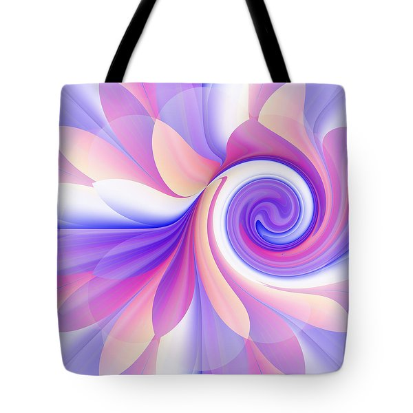 Flowering Pastel Tote Bag