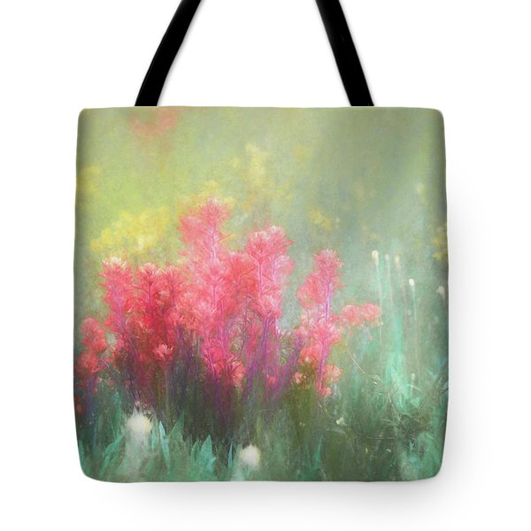 Tote Bag featuring the photograph Flowering Prairie by James Barber