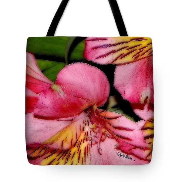 Flowers # 8728_1 Tote Bag