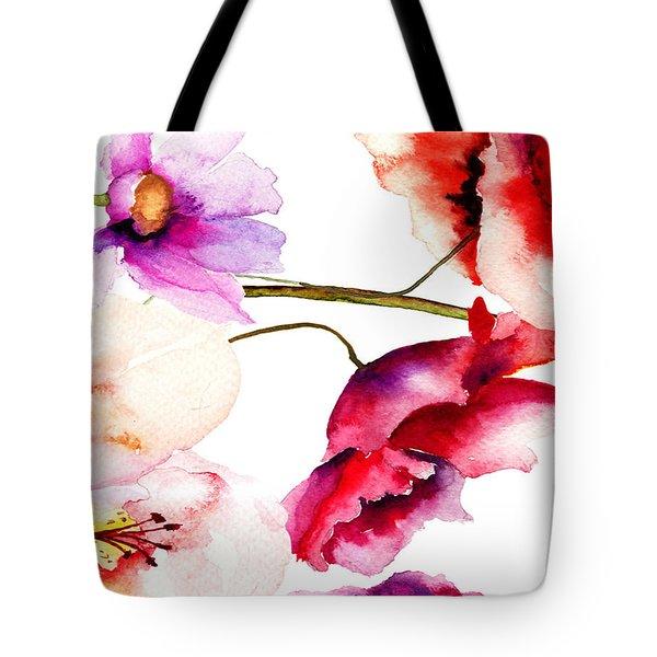 Flowers 02 Tote Bag