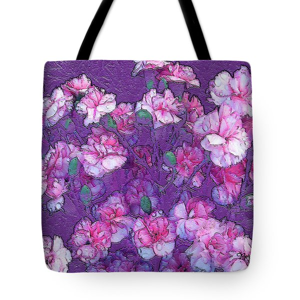 Flowers #063 Tote Bag