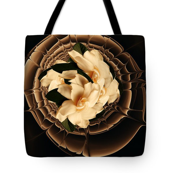 Flowers And Chocolate Tote Bag