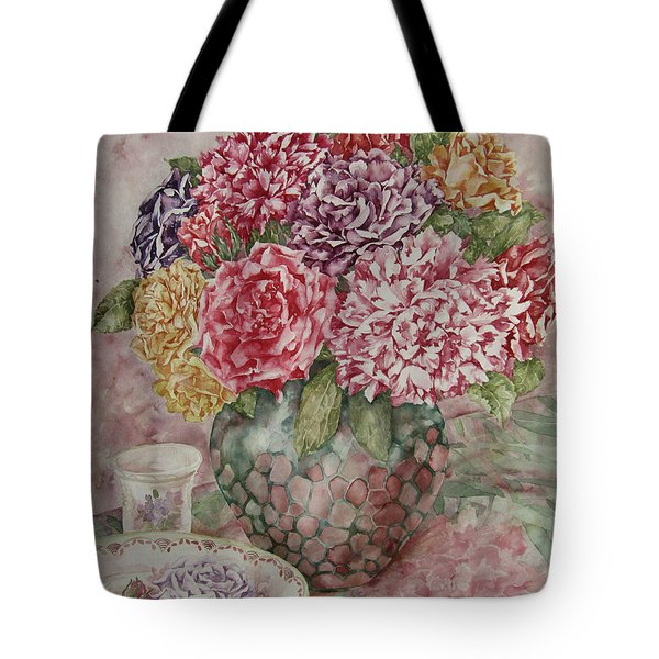 Flowers Arrangement  Tote Bag