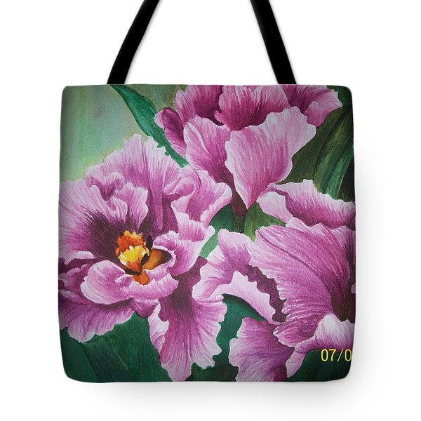 Flowers Blooming Tote Bag