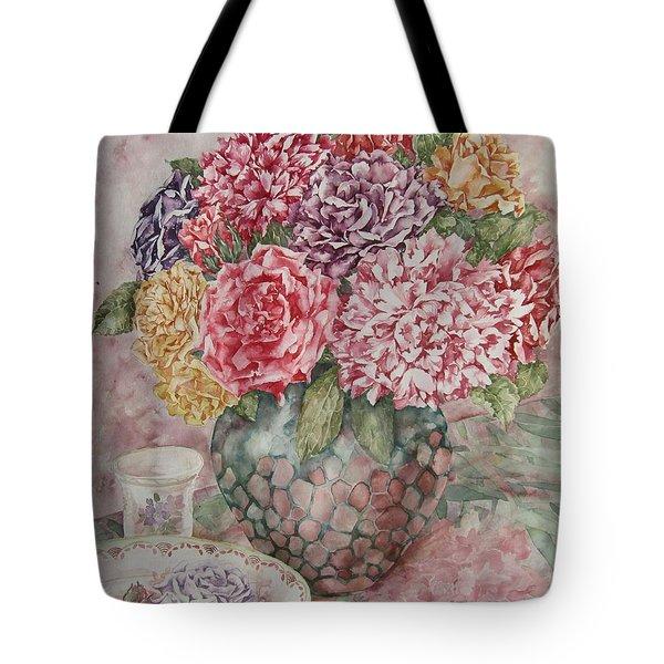 Flowers Arrangement  Tote Bag