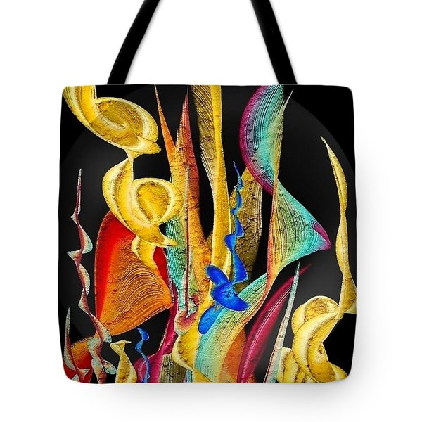 Flowers Dream By Nico Bielow Tote Bag by Nico Bielow