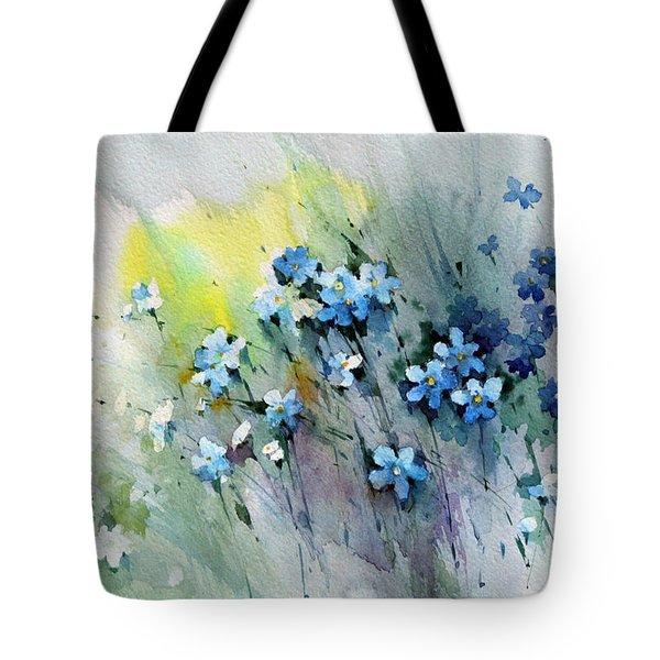 Flowers Fantasy Tote Bag by Natalia Eremeyeva Duarte