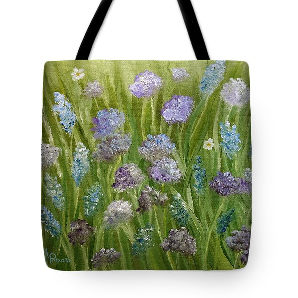 Flowers Field Tote Bag