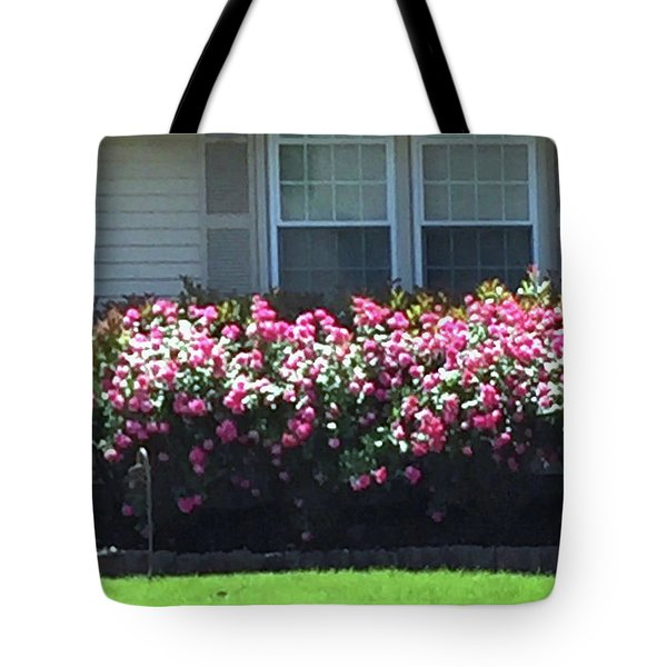 Tote Bag featuring the photograph Flowers Floral Presentation Home Decorations Gifts For Christmas Holidays Birthday Anniversary Mom  by Navin Joshi