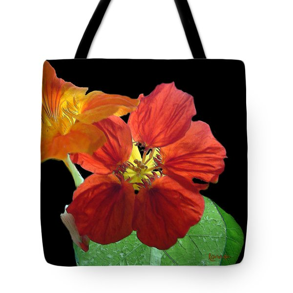 Flowers For Ebie Tote Bag by RC deWinter
