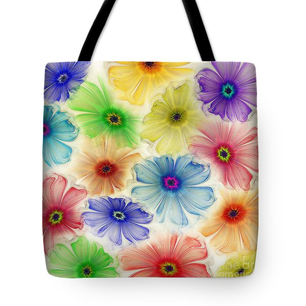 Flowers For Eternity Tote Bag