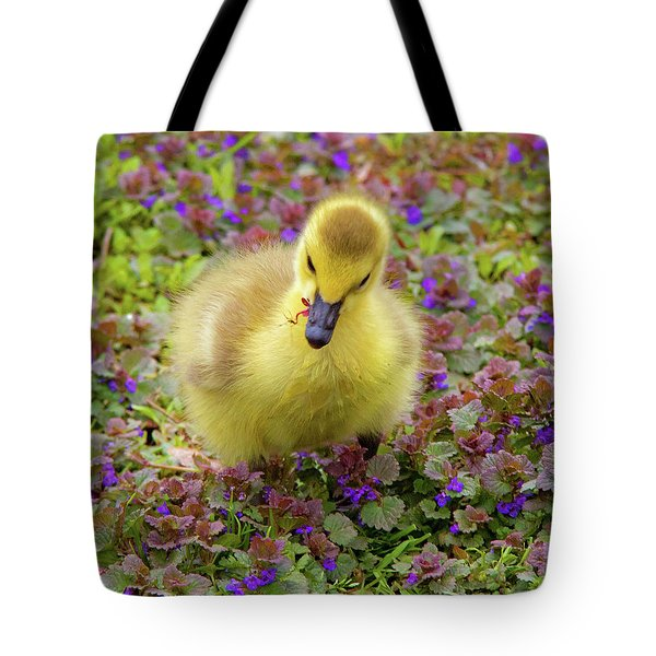Flowers For Lunch Tote Bag
