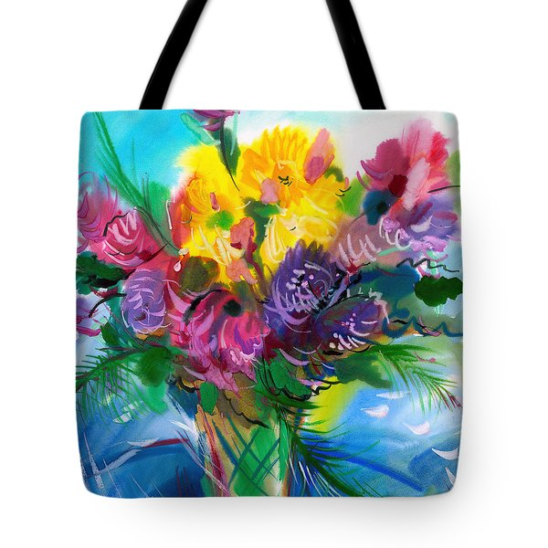 Flowers For My Jesus Tote Bag by Karen Showell
