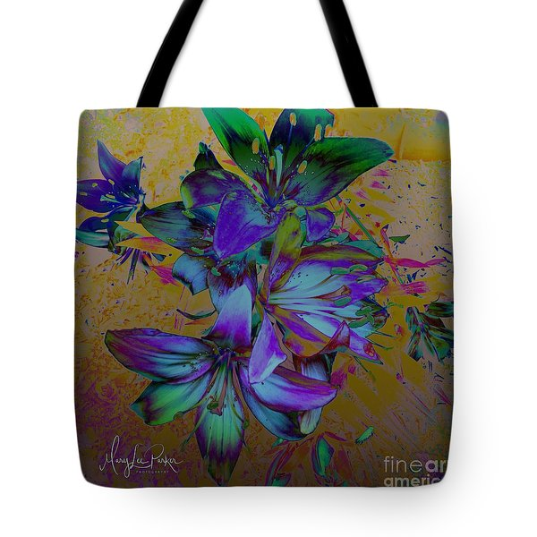 Flowers For The Heart Tote Bag