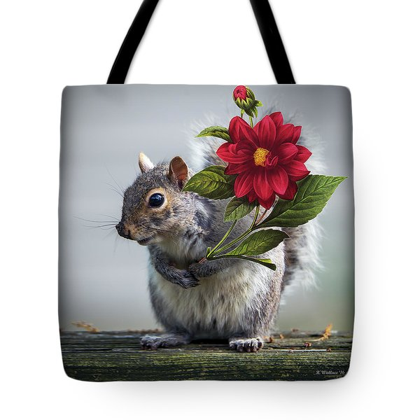 Flowers For You Tote Bag