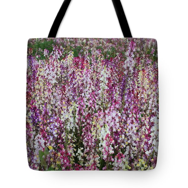 Flowers Forever Tote Bag by Carol Groenen