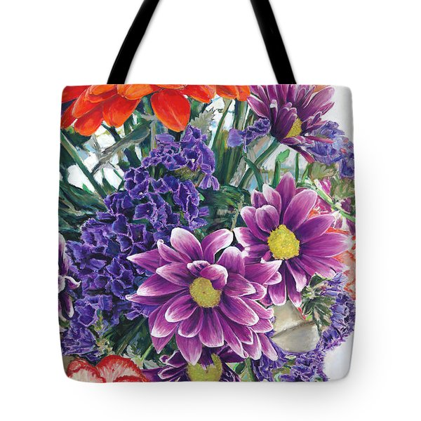 Flowers From Daughter Tote Bag