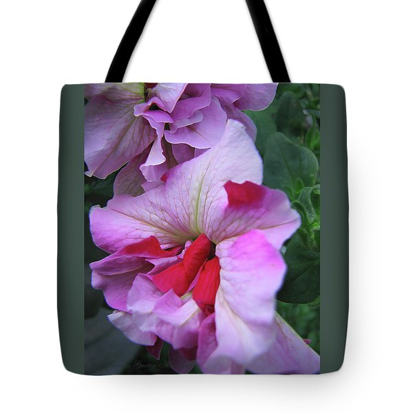 Flowers From Johnny - Petunia Tote Bag by Brooks Garten Hauschild