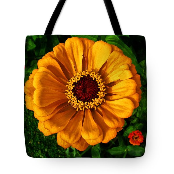 Tote Bag featuring the photograph Flowers In A Flower 005 by George Bostian