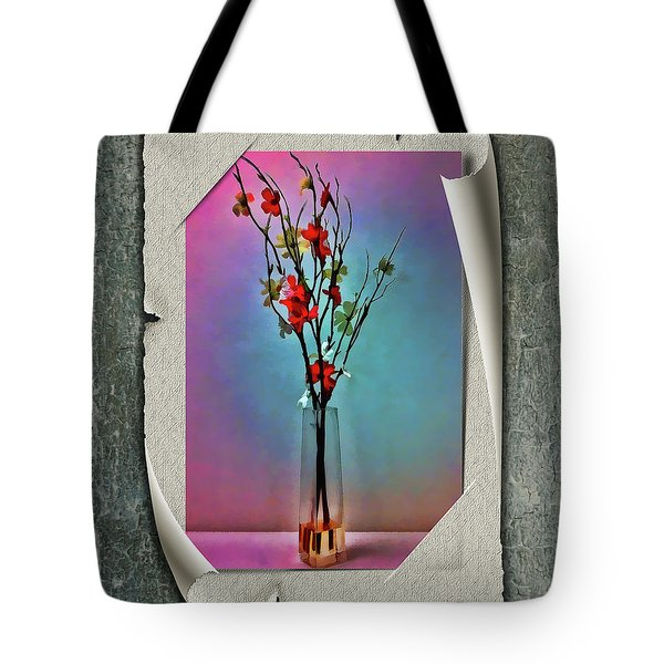 Flowers In A Vase Tote Bag