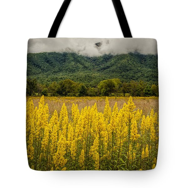 Flowers In Cades Cove Tote Bag