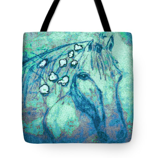 Flowers In Her Hair Tote Bag
