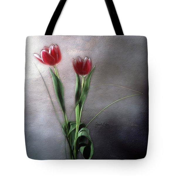Flowers In Light Tote Bag by Jack Eadon