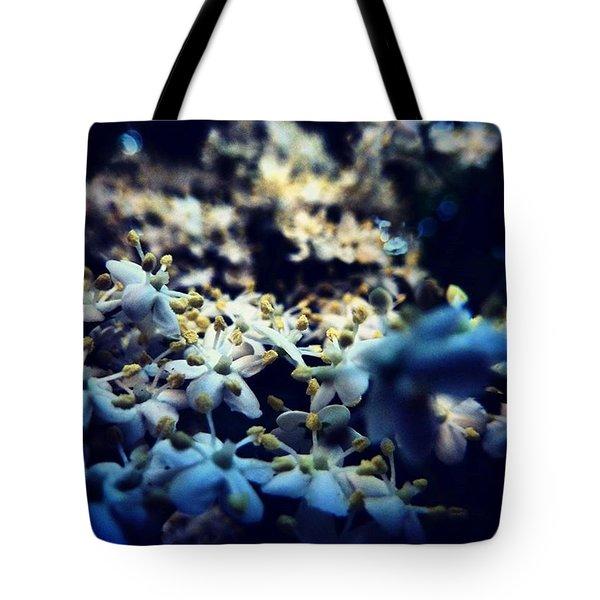 Flowers In The Dark 🔦 Tote Bag