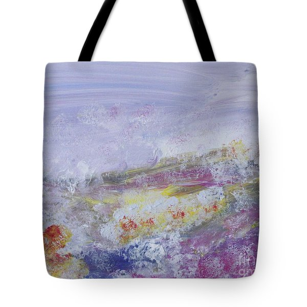 Flowers In The Ether Tote Bag