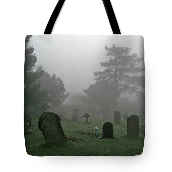 Flowers In The Mist Tote Bag by Anne Kotan