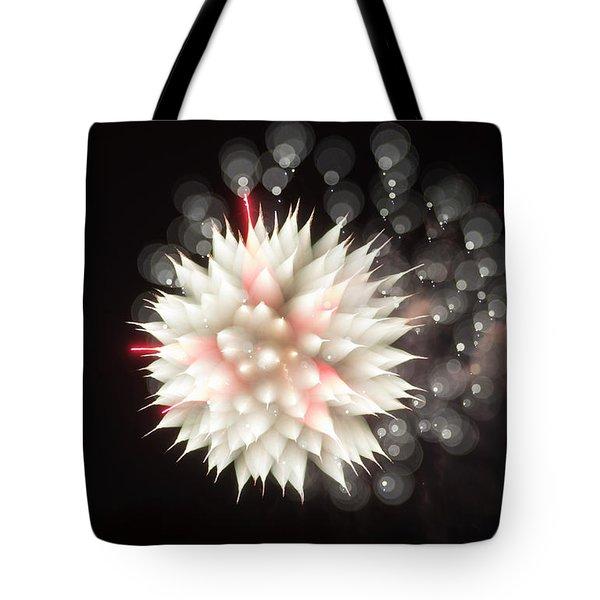 Flowers In The Sky Tote Bag