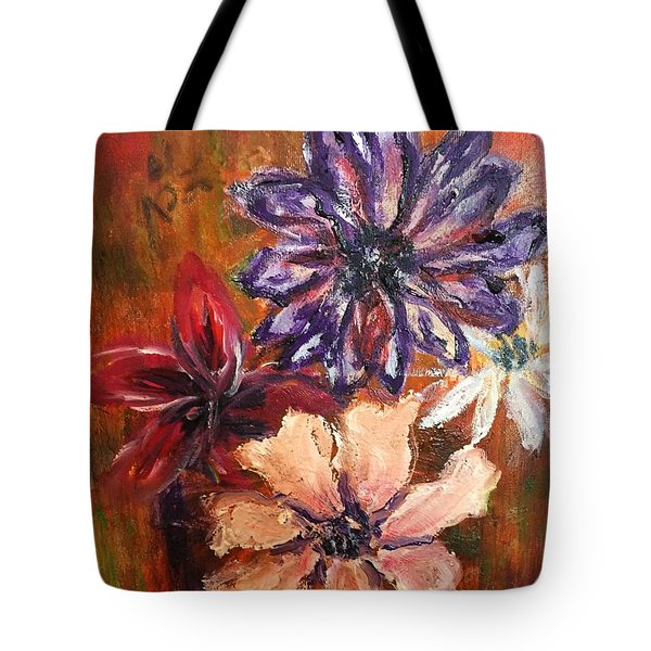 Flowers In The Spring Tote Bag