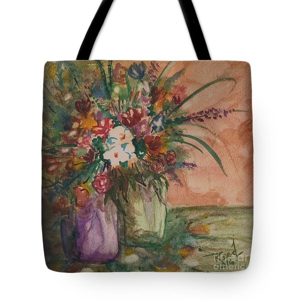 Flowers In Vases 2 Tote Bag