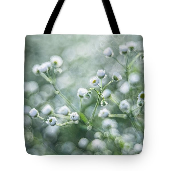 Flowers Tote Bag by Jaroslaw Grudzinski