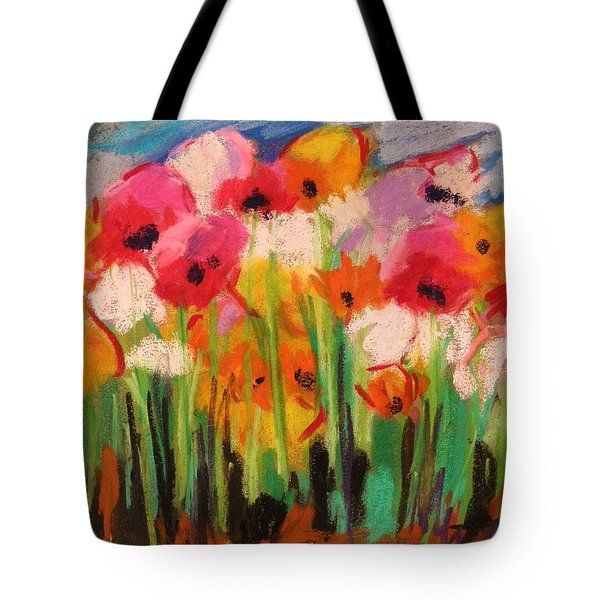 Flowers Tote Bag by John Williams