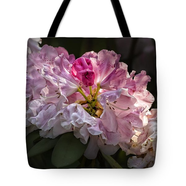 Flowers Late Afternoon Light Tote Bag