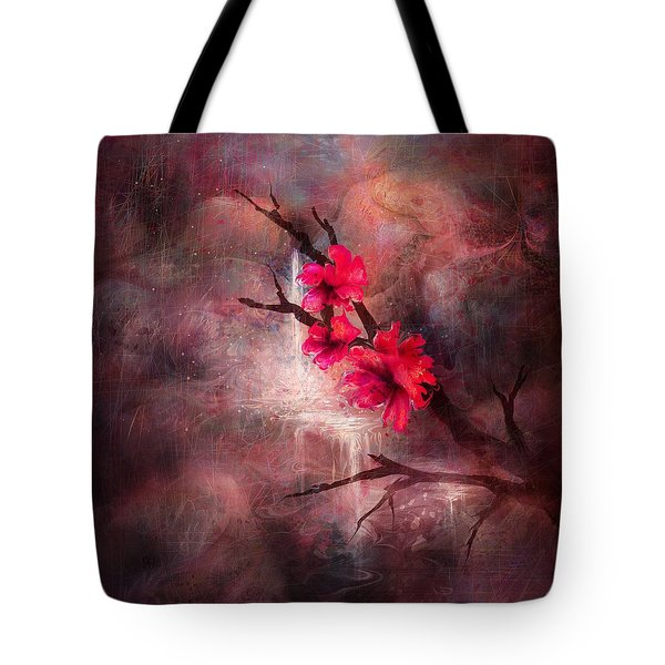 Flowers Of The Rock Tote Bag