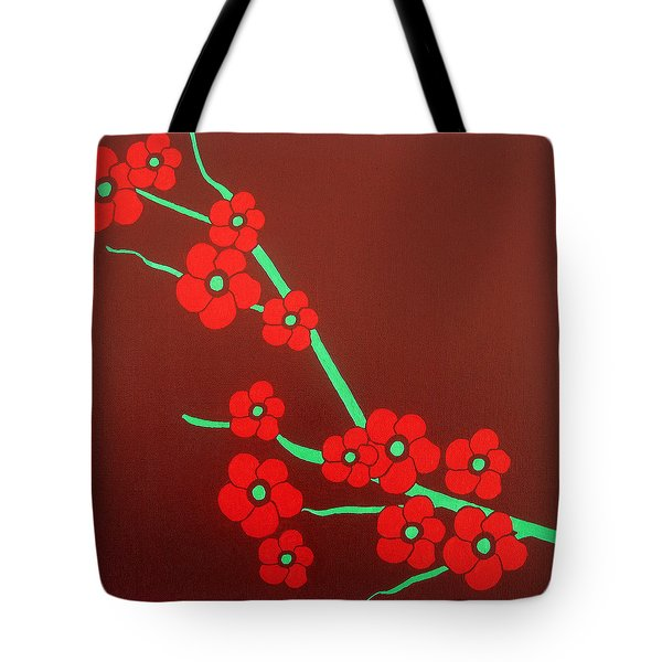 Flowers Tote Bag by Oliver Johnston