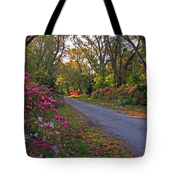 Flowers - Spring Fling Tote Bag by HH Photography of Florida
