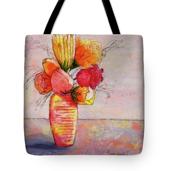 Flowers Tote Bag by Terry Honstead