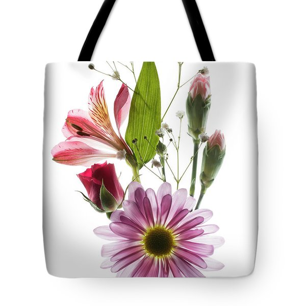 Tote Bag featuring the photograph Flowers Transparent 1 by Tom Mc Nemar
