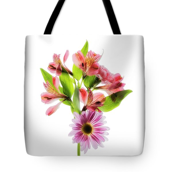 Tote Bag featuring the photograph Flowers Transparent  2 by Tom Mc Nemar