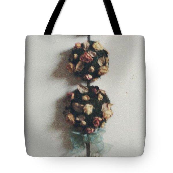 Flowery Teapot Tote Bag