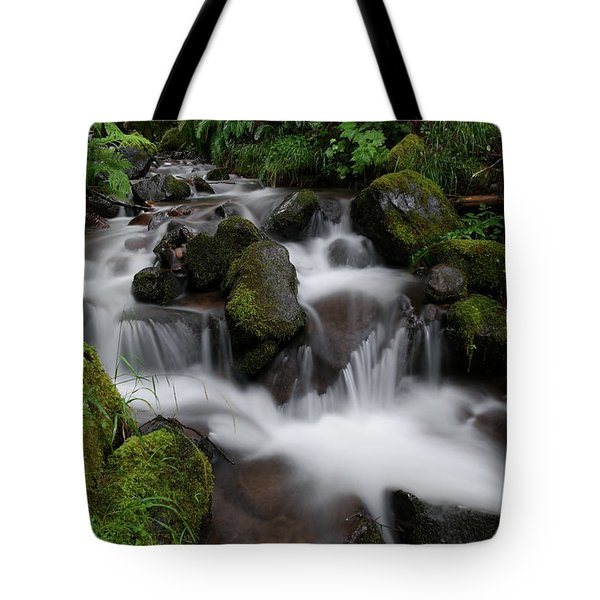 Flowing Beauty In The Green Tote Bag
