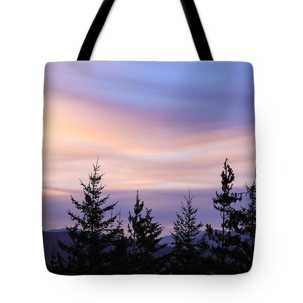 Flowing Clouds Tote Bag