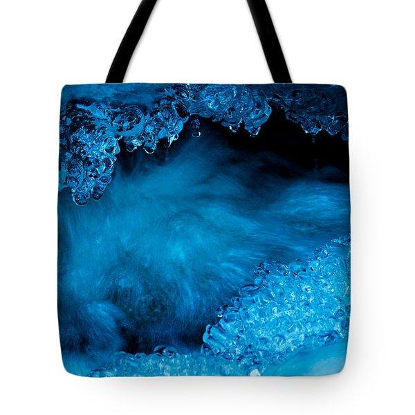 Flowing Diamonds Tote Bag by Sean Sarsfield