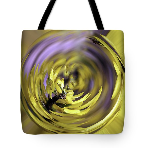 Tote Bag featuring the photograph Flowing Forsythia by Cathy Donohoue