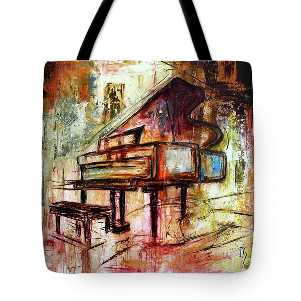 Flowing Notes Tote Bag